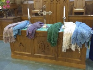 Prayer Shawl Communion Table